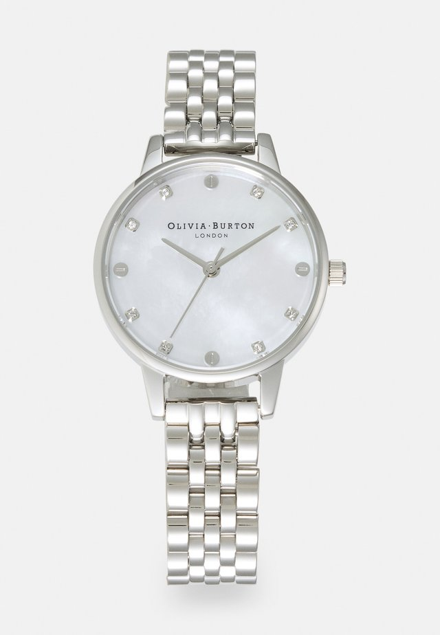 CLASSICS - Horloge - silver-coloured/white