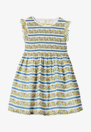 Day dress - bunt blumenstreifen