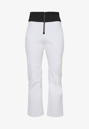REASON PANT - Snow pants - white/black