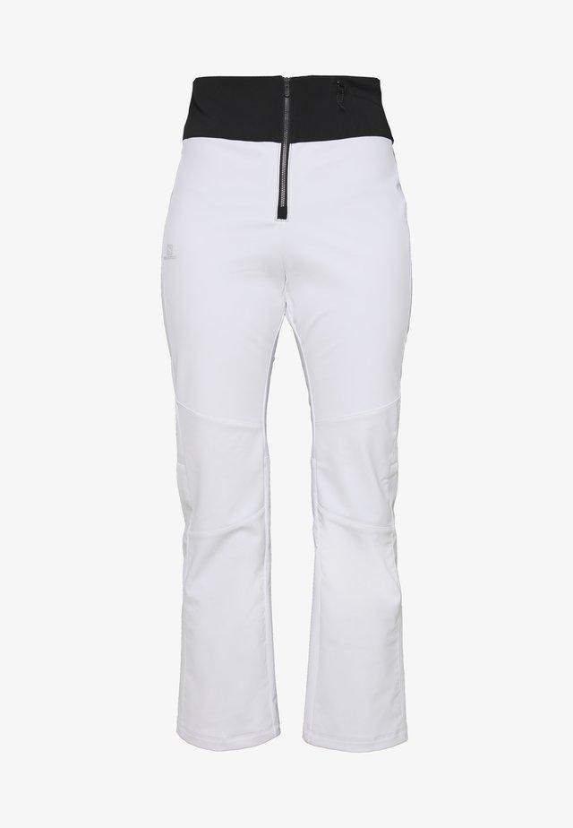 REASON PANT - Zimní kalhoty - white/black