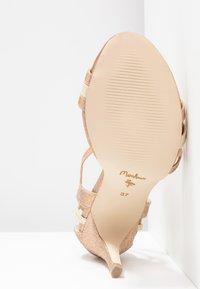 Menbur - Korolliset sandaalit - sand - 6