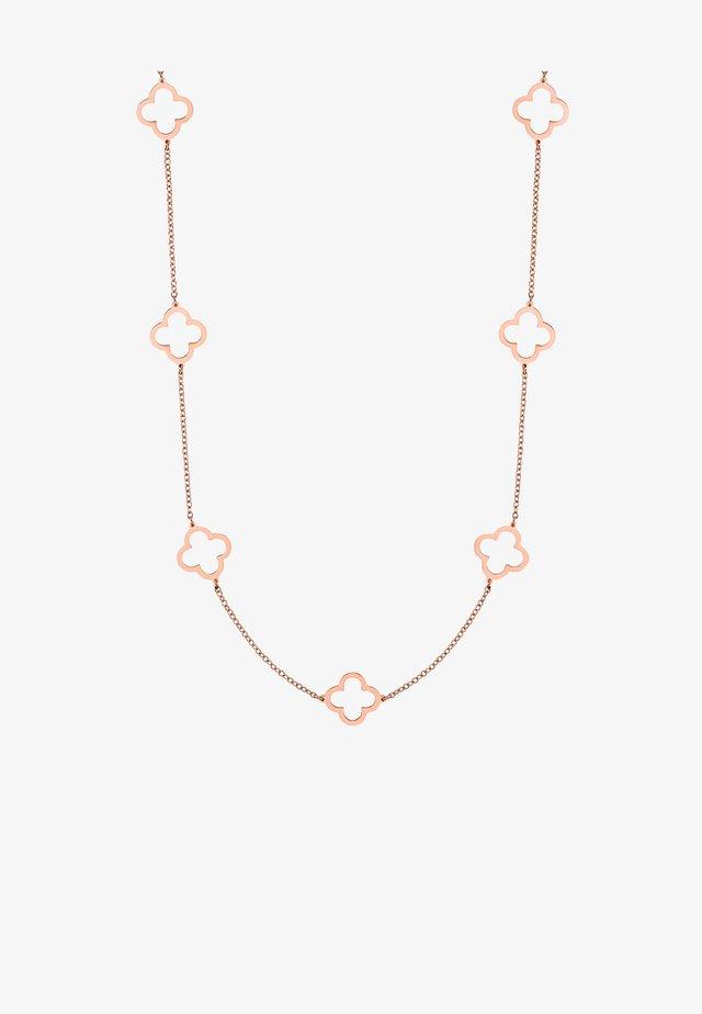 ELARA  - Collier - rose goldfarbend