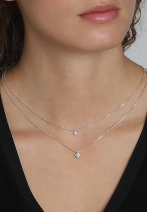 Necklace - silver plated