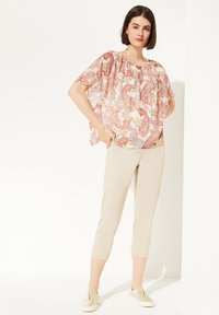 comma - MIT PAISLEY-MUSTER - Blouse - rose summer paisley - 1