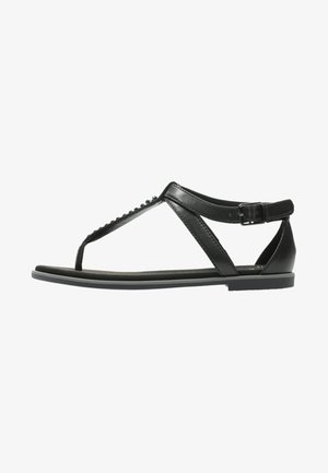 BAY POPPY - T-bar sandals - black