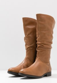 Pier One Wide Fit - Boots - cognac - 4