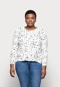 Marks & Spencer London - CASHMI MINI STAR - Jumper - off-white - 0