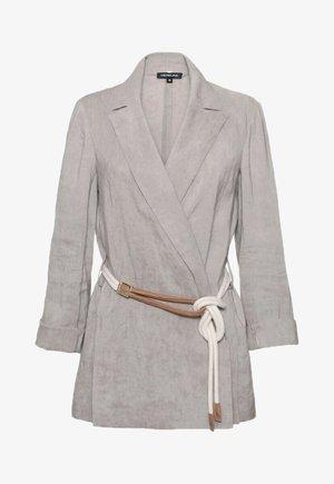Krótki płaszcz - beż