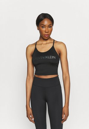 COOL TOUCH TANK - Top - black