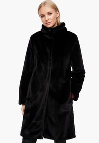s.Oliver - TEDDY - Winter coat - black - 0