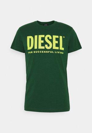 DIEGO LOGO - Print T-shirt - green