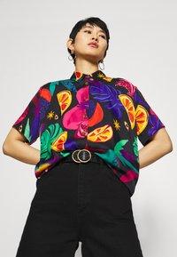 Farm Rio - MYSTIC JUNGLE SHIRT - Button-down blouse - multi - 3