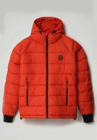 Napapijri - CIRCULAR PUFFER - Winter jacket - orange clay - 1