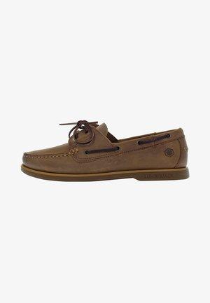 Boat shoes - brown/tan