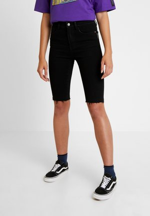 Shorts vaqueros - black