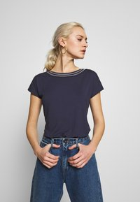 Anna Field - T-shirts - maritime blue - 3