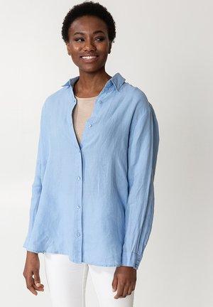 DIANA - Button-down blouse - ltblue