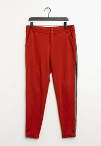 Kaffe - Trousers - red - 0