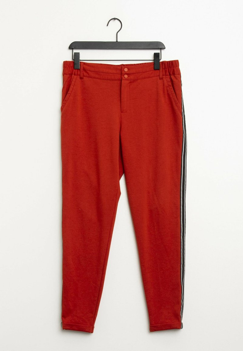 Kaffe - Trousers - red