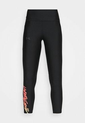 ANKLE LEG 80'S - Leggings - black/black