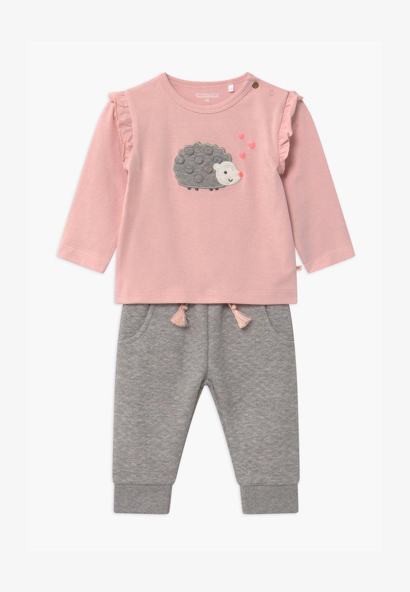 Staccato - SET - Kalhoty - light pink/grey