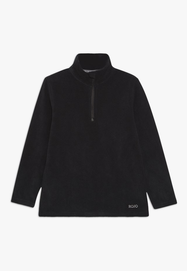 KEZZA JUNIOR - Fleece jumper - true black