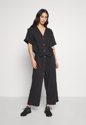 SANNA - Jumpsuit - black dark