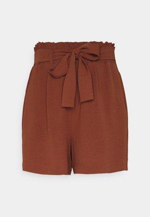 ONLLAVENDER PAPERBAG - Shorts - arabian spice
