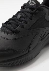 Reebok - WALK ULTRA 7 DMX MAX - Walking trainers - black/cold grey/collegiate royal - 5