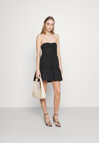 Fashion Union - TEASE DRESS - Cocktail dress / Party dress - black - 1