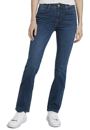 ALEXA  - Straight leg jeans - mid stone wash denim