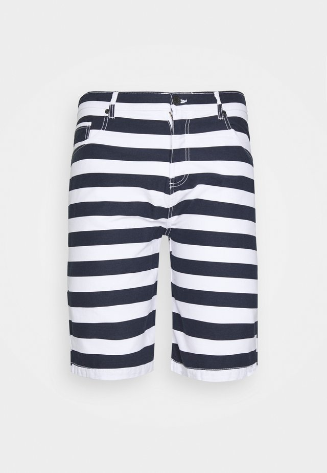 BIG TALL - Shorts - main white/navy