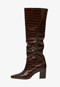 PULL&BEAR - Boots - brown - 1