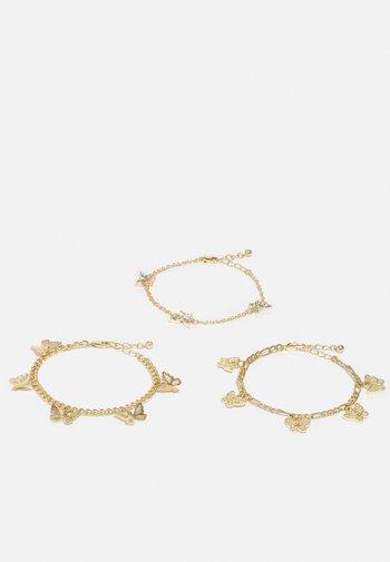 PCVILLA BRACELET 3 PACK - Bracelet - gold-coloured