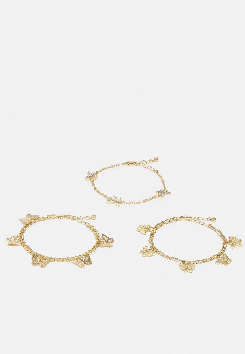 Pieces - PCVILLA BRACELET 3 PACK - Bracelet - gold-coloured