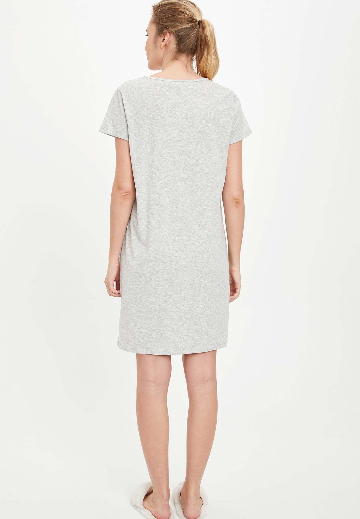 Abbigliamento da donna DeFacto Maglia del pigiama grey