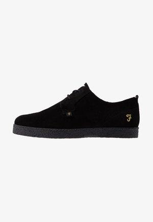 SAWYER - Sznurowane obuwie sportowe - black