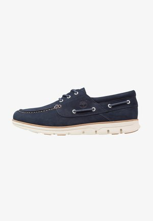BRADSTREET 3 EYE - Boat shoes - black iris