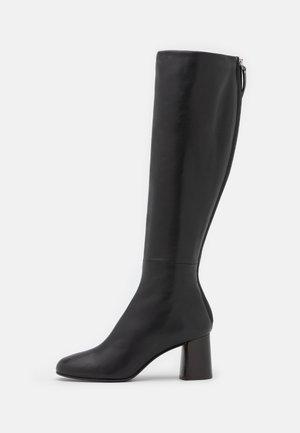 NADIA SOFT TALL HEEL BOOT - Laarzen - black