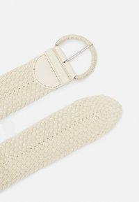 TOM TAILOR - ELLA - Braided belt - sand - 1