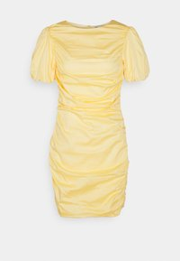 Nly by Nelly - THE CUTEST RUCHED DRESS - Cocktail dress / Party dress - light yellow - 5