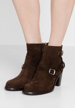 TRIALMASTER  - Kotníková obuv - dark brown