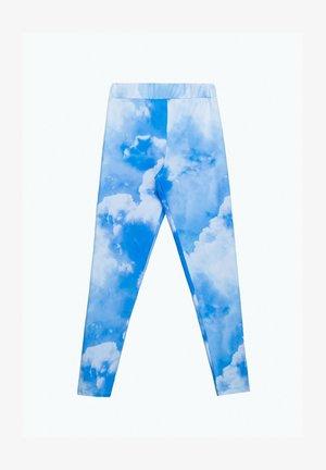 Legging - blue/white