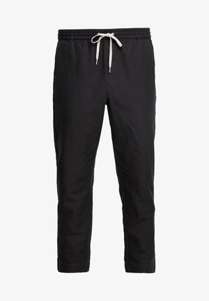 LUCKETT - Trousers - washed black