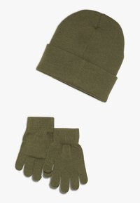 Champion - BEANIE GLOVES SET  - Hansker - olive - 1