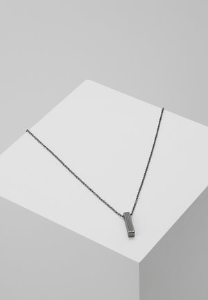 PINSTRIPE NECKLACE - Kaulakoru - gunmetal