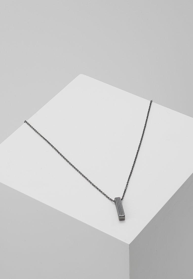 Icon Brand - PINSTRIPE NECKLACE - Necklace - gunmetal