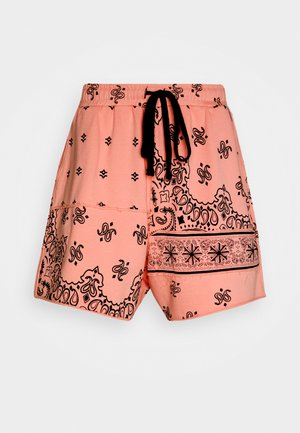 CUT AND SEW PAISLEY - Shorts - pink