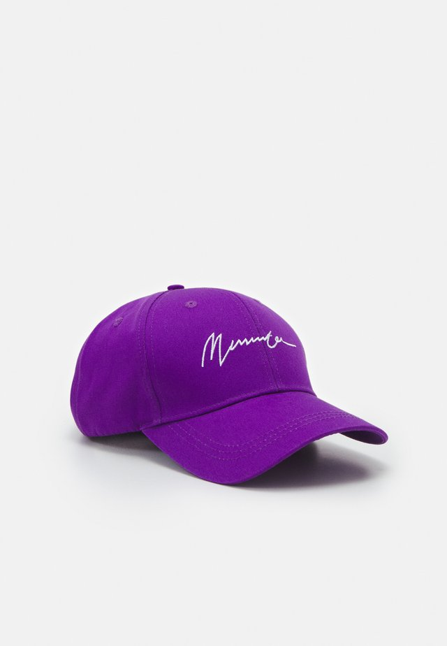SIGNATURE BASEBALL - Cap - purple