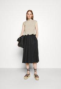 ARKET - SKIRT - A-line skirt - black - 1